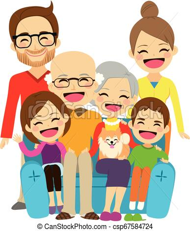 Extended family Illustrations and Clip Art. 153 Extended family.