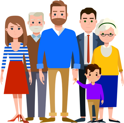 PNG Extended Family Transparent Extended Family.PNG Images..