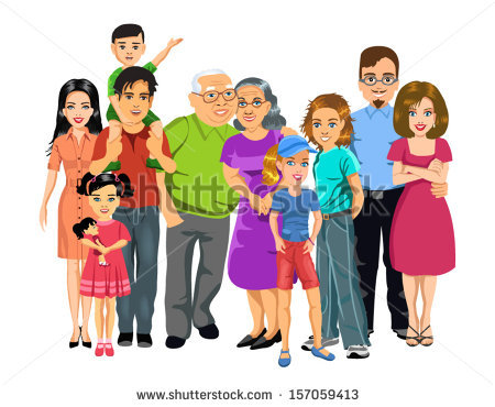 Extended family clipart 10 » Clipart Station.