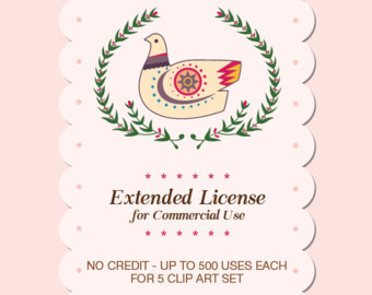 EXTENDED LICENSE No Credit Required, Single product, Unlimited.