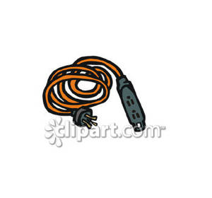 Extension Cord Safety Clip Art.