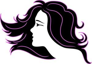 Hair extensions clip art.