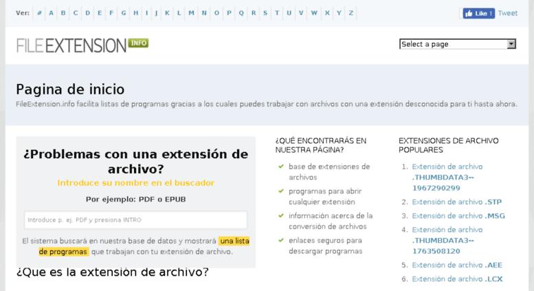 Access es.fileextension.info. FileExtension.info.
