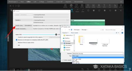 Cómo cambiar la extensión de un archivo en Windows.
