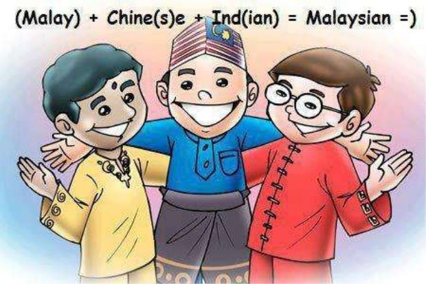 Malaysian people clipart.