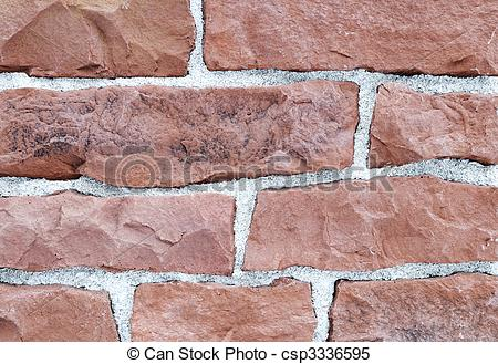 Stock Images of brick stone exterior and interior decoration.