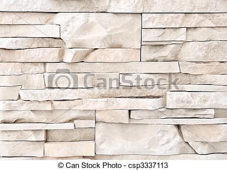 Stock Photos of brick stone exterior and interior decoration.