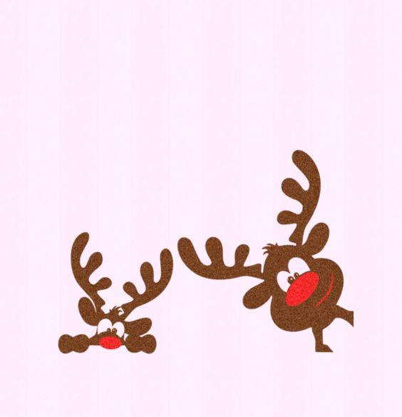 Christmas Reindeer set SVG,EPS Png DXF,digital download files for.