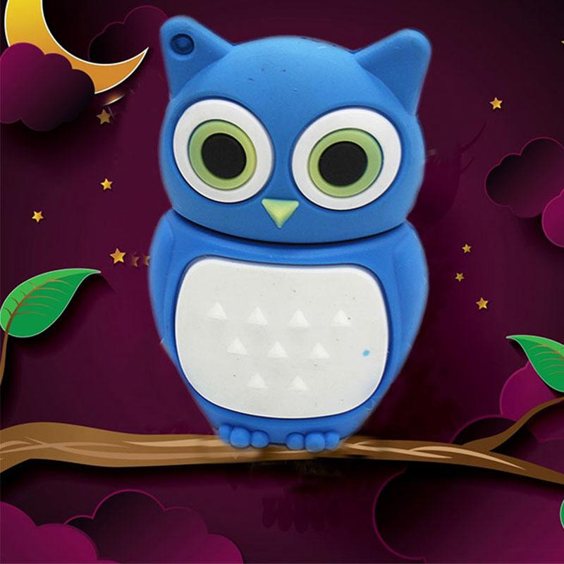 Lovely Owl 8GB USB 2.0 Flash Pen Drives External Memory Stick.