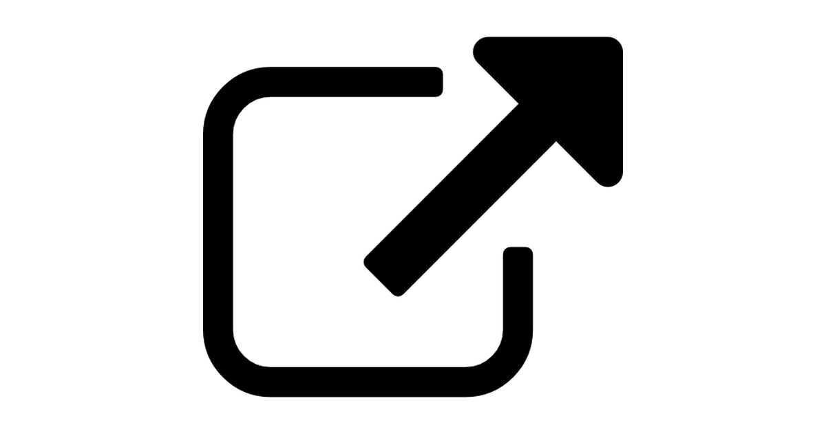 External link symbol.