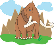 Animal extinction clipart.