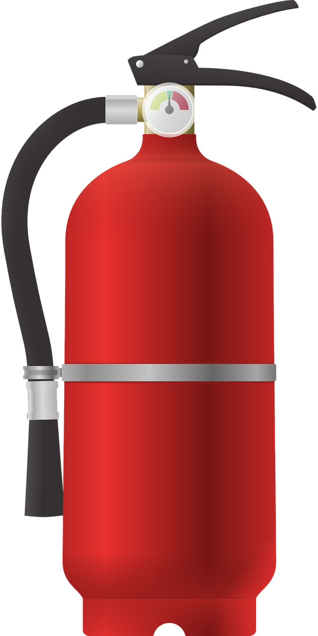 Free Fire Extinguisher Clip Art.