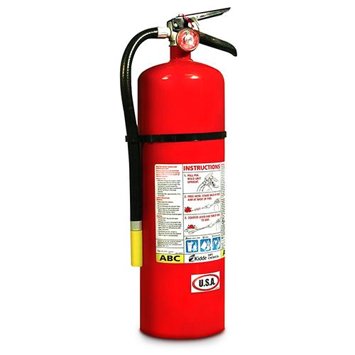 Extintor Polvo Químico (PQS).