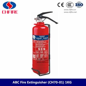 1kg pequeno extintor de incendios para coche.