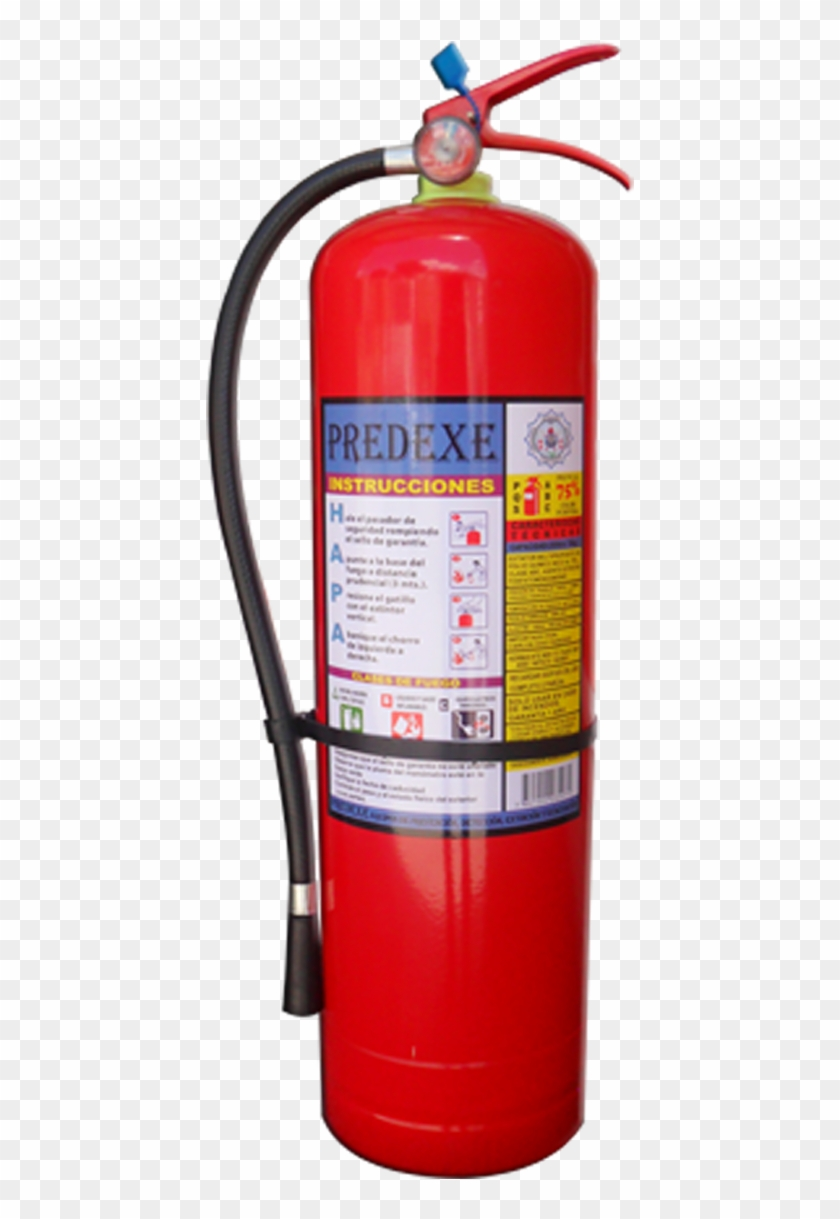 Extintor De Polvo Químico Seco.