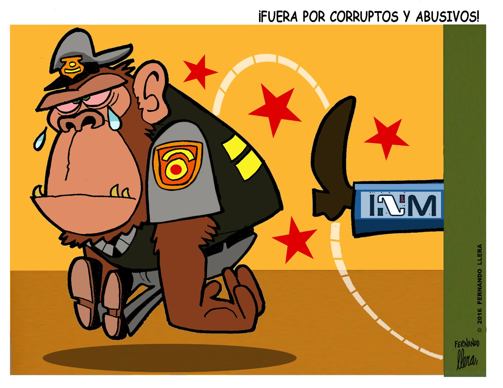 Fernando Llera Blog Cartoons: August 2016.