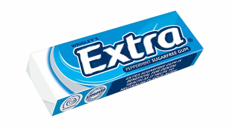 Chewing Gum Extra Blue, Transparent Png Download For Free #1961669.