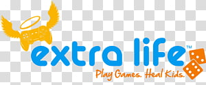 Extra Life PNG clipart images free download.