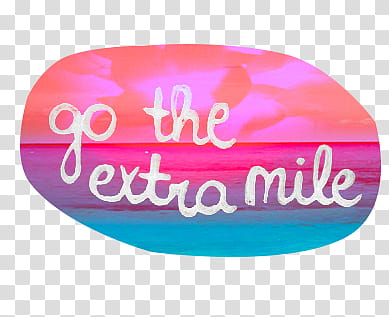Wild s, go the extra mile text transparent background PNG.