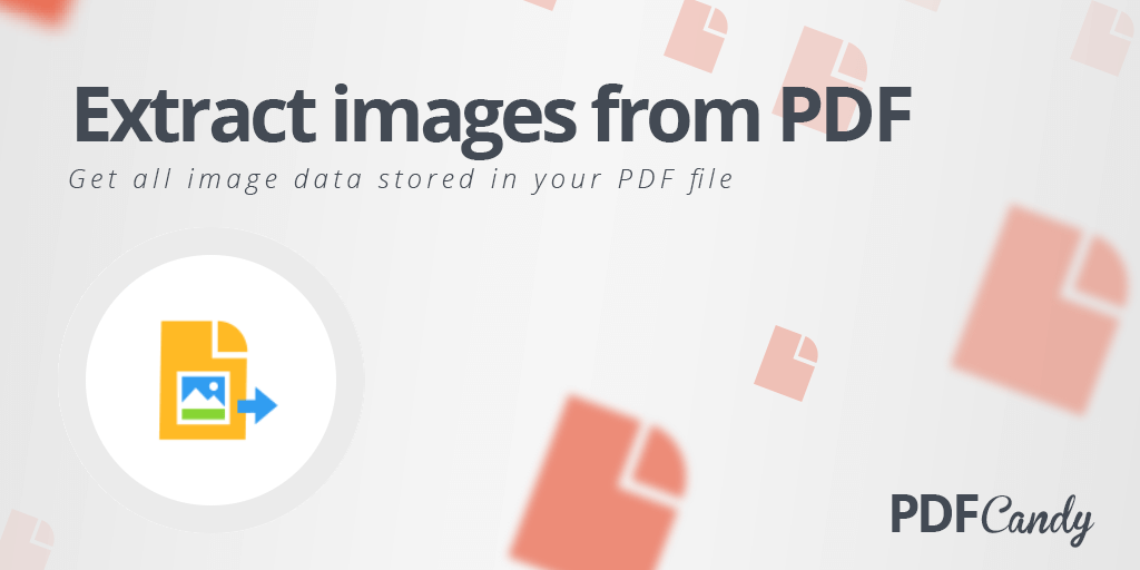 Extract all images from PDF free online.