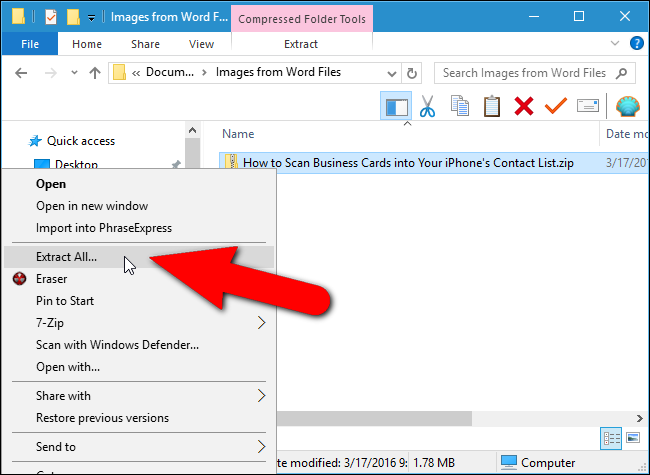 How to Extract Images, Text, and Embedded Files from Word, Excel.