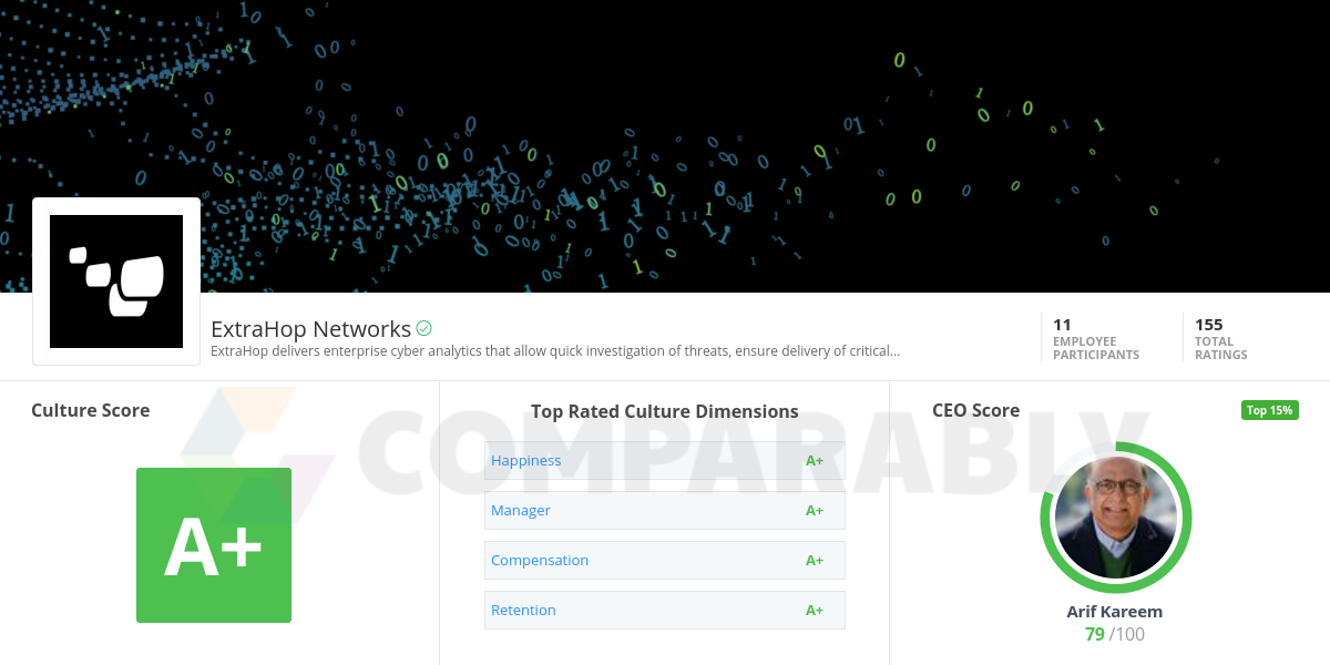 ExtraHop Networks Company Culture.