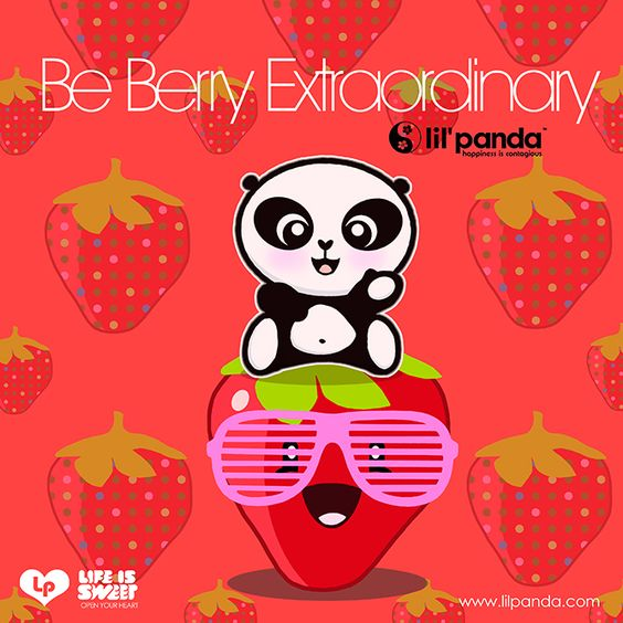 lil'panda blog: Be Berry Extraordinary.