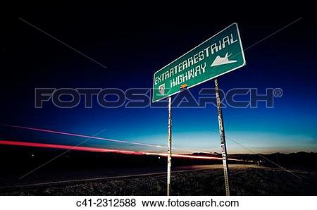 Pictures of Highway 375. (Extraterrestrial Highway) Near Area 51.