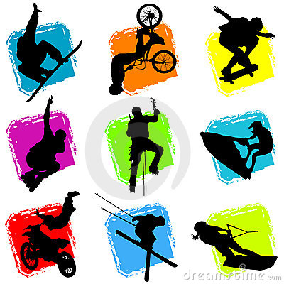 Extreme sport clipart #3