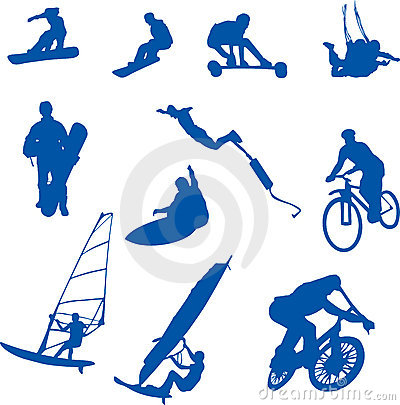 Extreme sport clipart #15