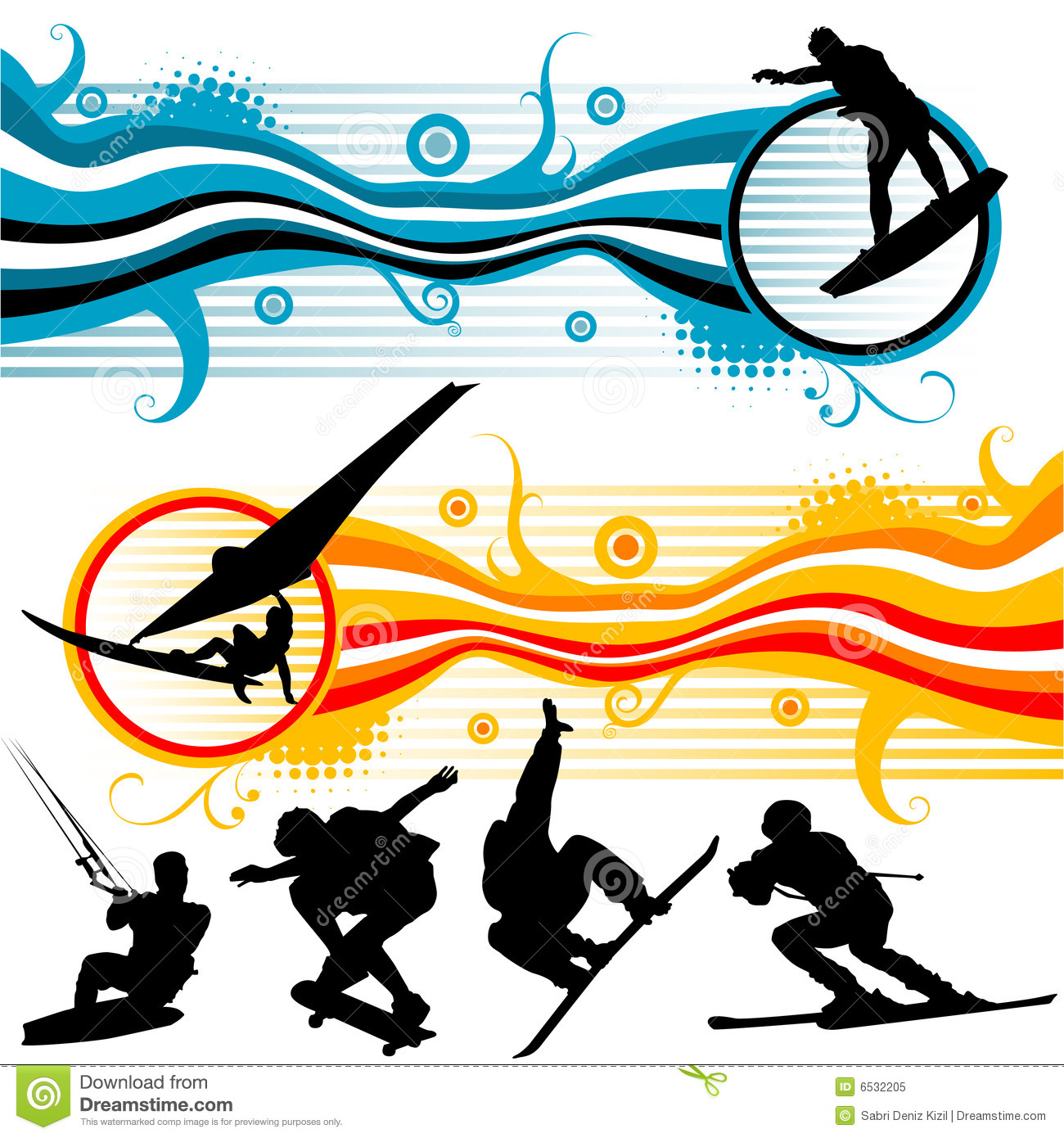Extreme sport clipart #8