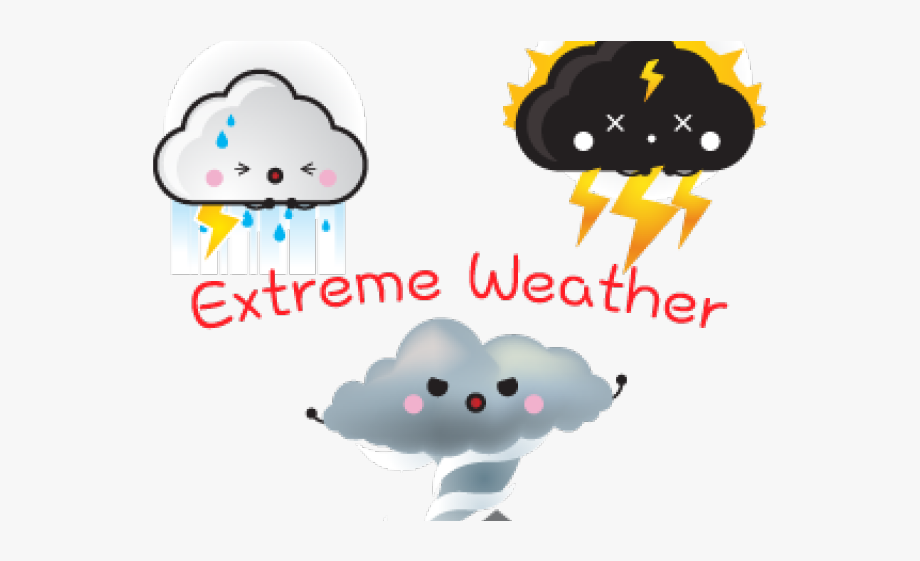 Weather Clipart Extreme Weather.