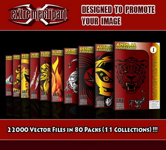 Extremeclipart Vector Collection AIO (FULL PACKS) (2010) / AvaxHome.
