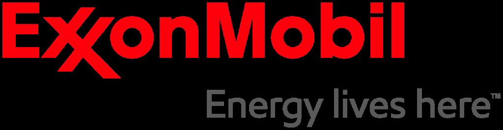 Exxon Mobil PNG Logo Horizontal.