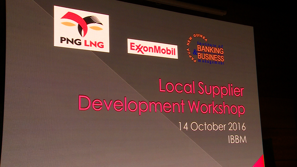 Exxon Mobil Engages Local Suppliers.
