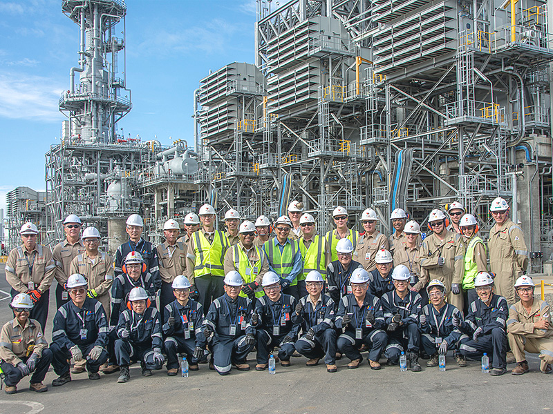 Challenging Project in Papua New Guinea|CHIYODA CORPORATION.