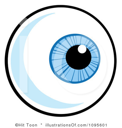 Monster Eyeball Clipart.