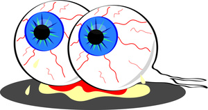 Monster Eyeball Clipart.
