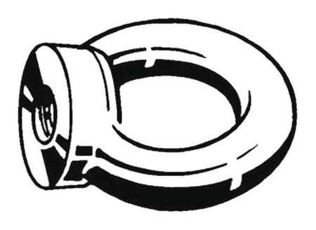Value Brand Lifting Eye Bolt, CS C15E, M6x13, PK25 M16000.060.0001.