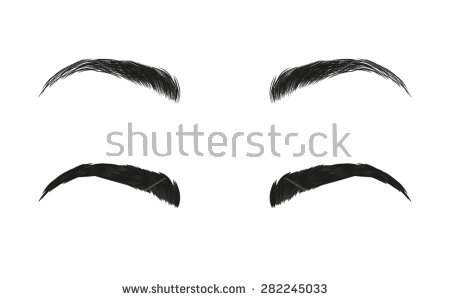 Eye Brows Clipart.