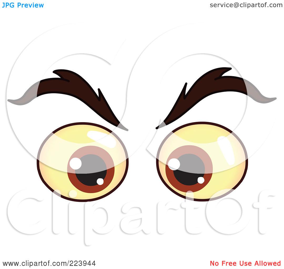 Eye Clipart Male.