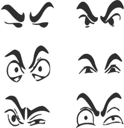 Vector eyebrows free vector download (30 Free vector) for.