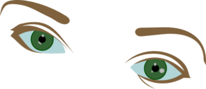 Eyes And Eyebrows Clip Art at Clker.com.
