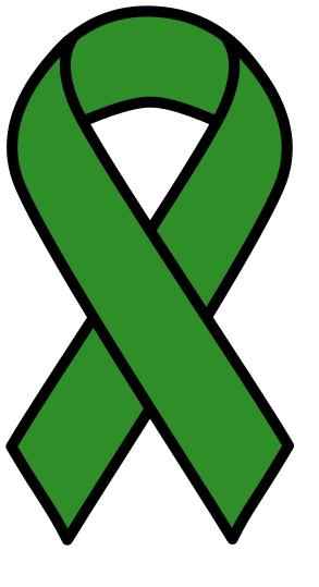 eye cancer ribbon.