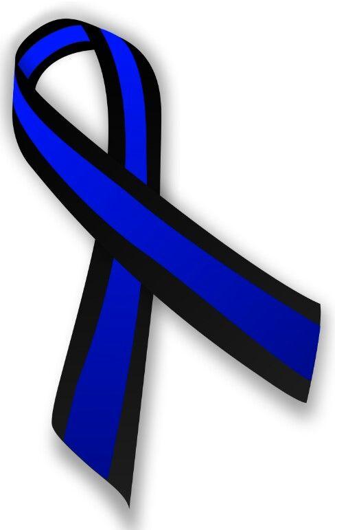 Cancer awareness ribbon for Ocular Melanoma.
