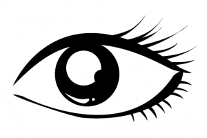 Eye black and white clipart 2 » Clipart Station.