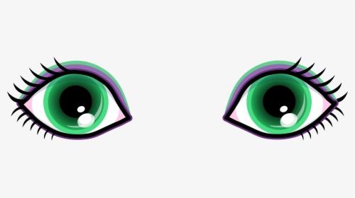Green Eyes Clipart.
