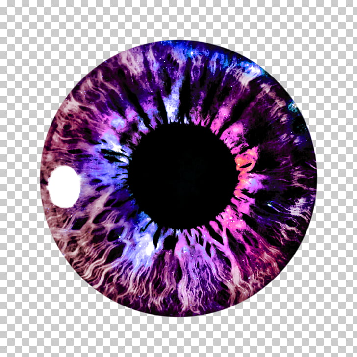 PicsArt Photo Studio Eye color , eyes, purple contact lens.