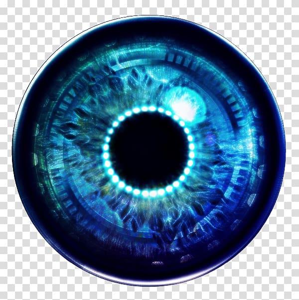 Iris Humanoid robot Eye PicsArt Studio, robotics eye.