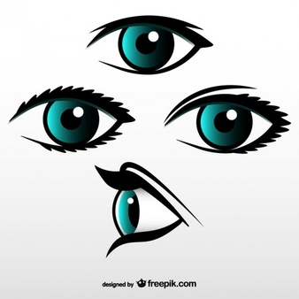 Gallery For > Right Side View Eye Clipart.
